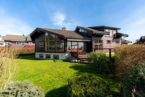 Eneboligen på over 300 kvadratmeter på Skadberg ble solgt etter første visning.