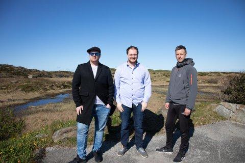 Espen Wathne (SV), David Moen (MDG) og Jan-Erik Timm (MDG) mener naturmangfoldet i Sola må inn i kommunal planlegging. - Den største trusselen er nedbygging av areal, og å ødelegge naturmangfoldet har enorme konsekvenser, påpeker de.