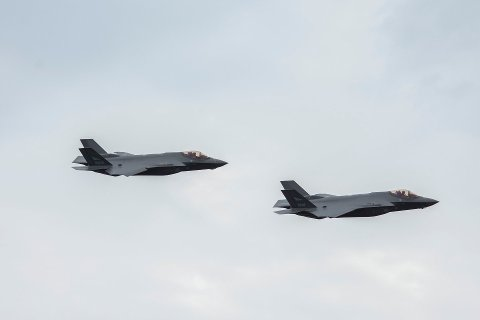 To F-35 var headlinere på fjorårets flyoppvisning på Sola.
