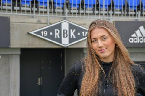 Matilde Alsaker Rogde kom til Rosenborg fra Klepp før sesongen.