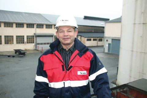 Administrerende direktør Jarle Fjetland på Stålverket sier situasjonen for bedriften fortsatt er krevende. Han kan ikke utelukke permitteringer. (Arkivfoto: Jens Bjørheim)