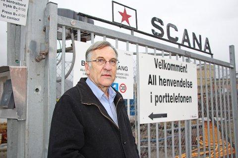 Hogne Fjellanger og hans medinvestorer har utsatt planene om å kjøpe Stålverket. Årsaken er en fallende oljepris. (Foto: Jens Bjørheim)