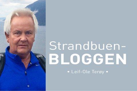 Bli med på Leif-Ole sin siste tur på Strandbuenbloggen.