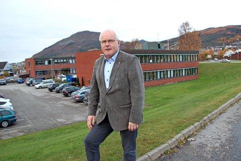 Rådmann Jon Ola Syrstad vil ikke gå i forhandlinger om en sammenslåing med Stavanger. (Arkivfoto)
