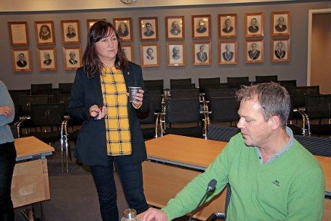 Det er politisk enighet i Strand når det gjelder neste års budsjett. Både ordfører Irene Heng Lauvsnes (H) og Arbeiderpartiets Helge Steinsvåg er glade for dette.