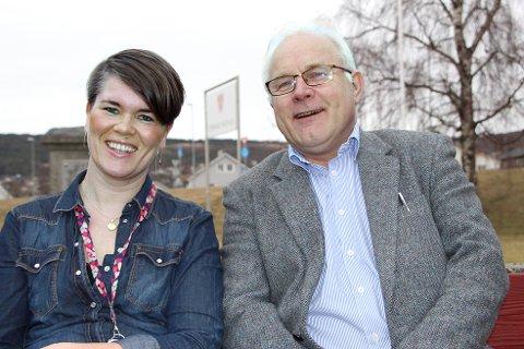 – Driften viser at Strand kommune har flinke ansatte og at virksomhetene klarer å drive etter budsjett, påpeker rådmann Jon Ola Syrstad og økonomisjef Hanne Karin Fjelde Krog.