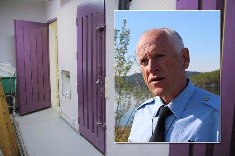 MYE BRUKT: Tidligere lensmann Odd-Bjørn Næss forteller at arresten i Rådhusgaten på Jørpeland ble mye brukt og at arresten generelt ble brukt mer før enn senere år.