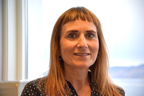 HAR AMBISJONAR: Anita Husøy Riskedal legg ikkje skjul på at ho har endå større ambisjonar som politikar, men er godt nøgd med å vera føreslegen på sjetteplass på Sp si stortingsliste.