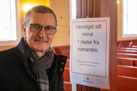 TILTAK: Sogneprest Martin Ivar Arnesen i Strand Kirke.