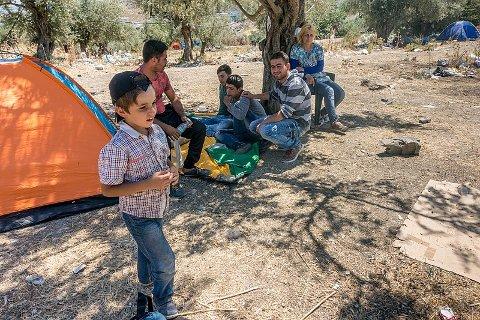 VIL HENTE: Strandbuen-redaktør, Jens Bjørheim, støtter de som vil hente barn fra flyktningleiren Moria på Lesvos i Hellas til Norge. (Foto: Wikimedia Commons)