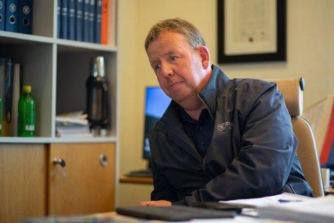 700 VARSLER: Daglig leder i Stangeland Maskin, Tommy Stangeland, sendte onsdag ut permitteringsvarsel til alle sine ansatte.