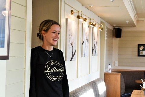 BLIR NY: Kjelleretasjen på Lilland Bryggerihotell får seg et ansiktsløft. – Hele etasjen får en forfriskning, sier hotellsjef Anne Monica Sagård.