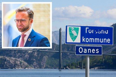 Kommunal- og moderniseringsminister Nikolai Astrup (H) stiller deg fullt bak utredningen departementet har bestemt.