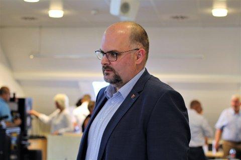 KRITISK: Varaordfører Bjørn Aril Veland er sterkt kritisk til Arbeiderpartiets framgangsmåte.