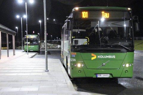 DIREKTE: Ei direkte bussrute mellom Tau og Jørpeland vil trolig komme til høsten.