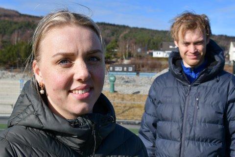 HAR SØKT: Elin Norland Eie og David Eie er blant søkerne på lærerjobber i Strand. Listen inneholder også de som allerede jobber som lærer i kommunen, men som ønsker seg til en annen skole.