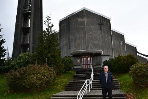 FORSTÅR IKKJE: Gjennom ein advokat har Strand kyrkjelege fellesråd, her ved leiar Tor Jan Aarstad, klaga på pålegga Arbeidstilsynet ber dei gjera.