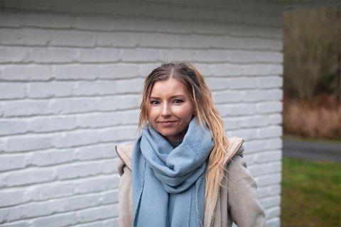 STOLT: Maiken Therese Osaland har gjort det godt i konkurransane til Norges Fotografforbund og nå har ho gått heilt til topps.
