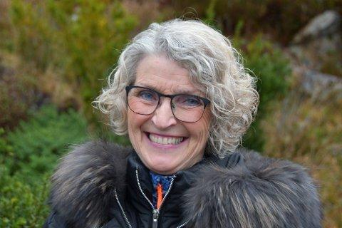 GLAD: Helsesjef Grete Strømsmo er glad for å få en kommuneoverlege i 100 prosent stilling på plass.