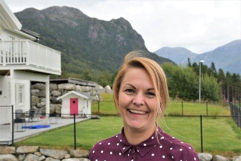 FAVORITTEN: Både Trude Holmedal Torstensen og mannen tar ofte turen til Topphøna over Bjørheimsbygd.