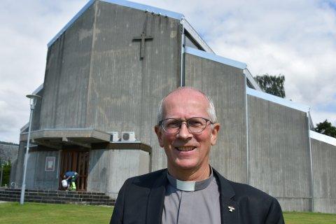 VIKARPREST: Ludvig Bjerkreim takka ja då biskopen spurde om han kunne tenka seg å ta over som sokneprest på Jørpeland.