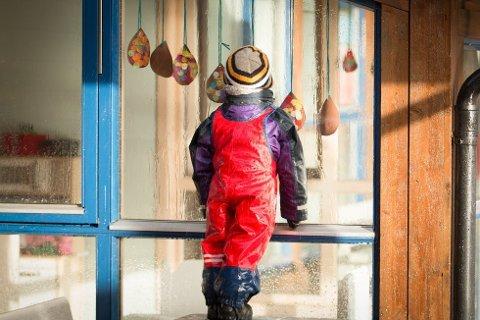 SMITTE: Et barn i Fjeldebakkane barnehage på Jørpeland er smittet av koronaviruset. (illustrasjonsfoto)