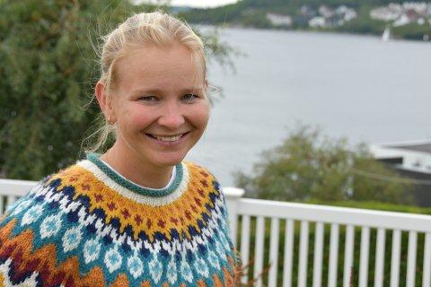 TAURAR: Maria Kristine Vellene flytta til Tau for å koma nærare familien.