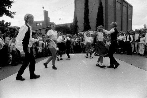 1984: Ogndal Rockeklubb vakte stor oppmerksomhet i martnasgata.