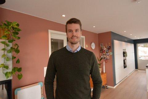 ØKONOMIDIREKTØR: Geir Jonny Rognan, bosatt på Sandvollan, blir ny økonomidirektør i TA Media og daglig leder i Inderøyningen.