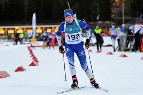TIL TOPPS: Mari Austheim imponerte da hun gikk til topps i Landsdelsmesterskapet i Soknedal og ble midtnorsk mester.