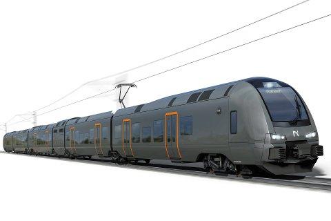 De nye togene er universielt utformet.