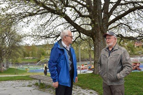 Arvid Hatling og Hallvar Klæth i Eldres råd etterlyser mer helhetlig tenkning rundt økonomi og konsekvenser av strukturendringer i eldreomsorgen.