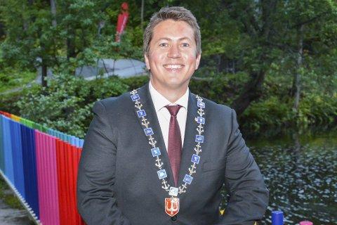BYGGER SVELVIK: Ordfører i Svelvik Andreas Muri. Arkivfoto