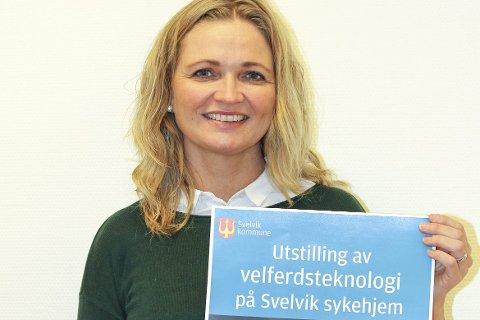 VELFERD: Dagny Nordahl Pettersen i Svelvik kommune. Foto Svelvik kommune