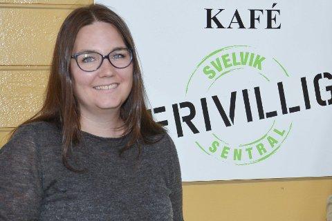 FRIVILLIG: Heidi S Hansen er leder for frivilligsentralen i Svelvik.