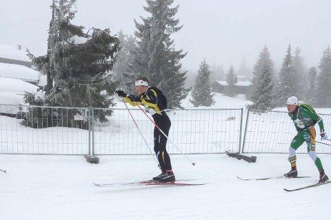 Jørgen Bertram Dyrdahl fortsetter å vise god form og leverte nok en god prestasjon