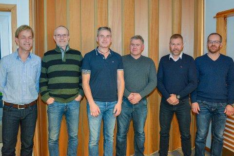SYKKELSTYRET 2017: Fra venstre har vi: Terje Langklopp, Tor Willy Haug, Bjørn Slinger, Roar Olsen, Inge Wergeland og Espen Johansen.