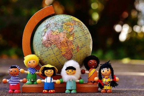 Minoritet barn - illustrasjon