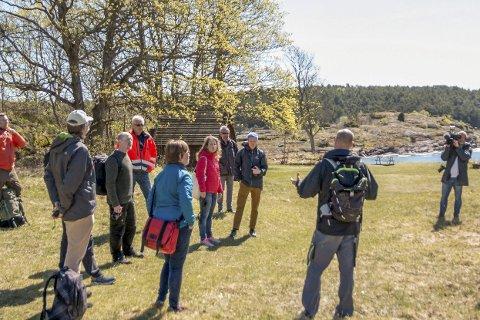 SJØVEIEN: Det skal lages et padleled fra Norges nordligste sørlandsby Svelvik og sørover til Larvik. Foto: VFK