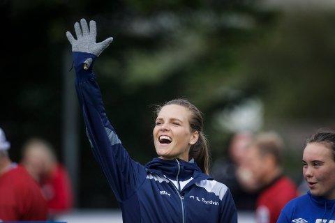 Charlotte Lund Abrahamsen skal bruke sin bakgrunn som friidrettsutøver på landslaget til å motivere deg til å trene.