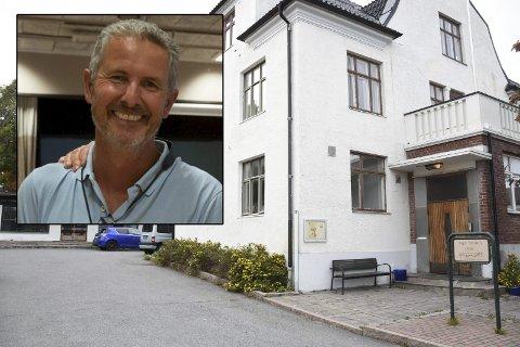 BYHUS: Åsmund Berg Nilsen stiller spørsmål rundt kommunens finansiering av byhuset. foto: Emma Huisman Moskvil/Veslemøy Prøis