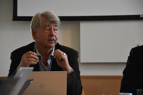 Forslag: Rådmann Hans-Petter Christensen la tirsdag fram sitt forslag til endringer i budsjettet for 2019.