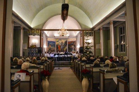 Pusser opp: Berger Kirkes Venner har samlet inn og brukt 1.449.847 kroner på å utbedre kirken. Men de er ikke ferdige enda. foto: arkiv, kent stian håkonsen