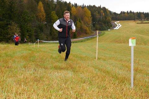 Lars Andreas Vik på vei inn til mål i Svanlimila.