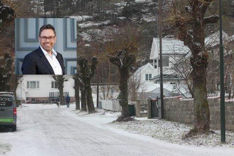 TROR FLERE FÅR ØYNENE OPP FOR SVELVIK: Geir Storli (innfelt) tror kommunesammenslåingen kan være gode nyheter for Svelvik.