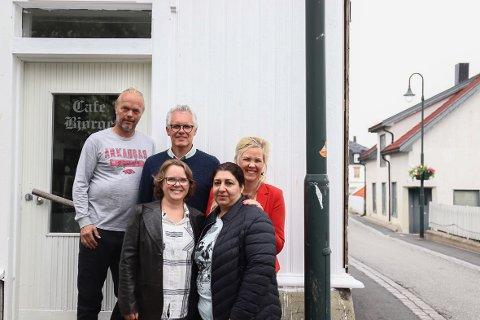 Åpner dørene igjen: Café Bjørge skal bli et sted hvor folk kan få arbeidspraksis, og gjestene kan spise.