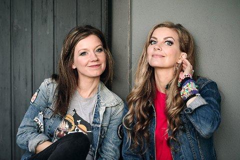 Maria Solheim og Silje Sirnes Winje har laget sin andre barneplate, Bråkebøttebaluba, sammen. Den slippes 18. oktober.