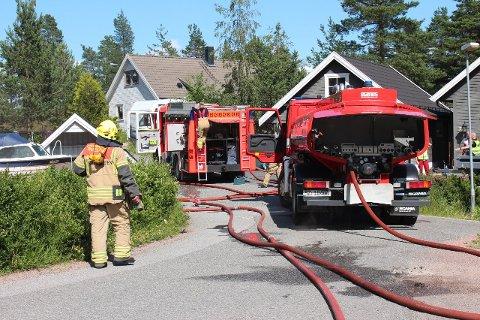 Nå kan du sikre deg en jobb som brannkonstabel i Svelvik. Sist de lyste ut en stilling i byen var i 2017.