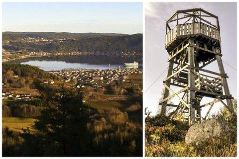 Utsikten og Tårnet har hatt mange besøk i sommer.