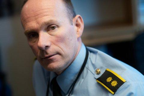 Geir Oustorp, leder for politiets forebyggende enhet.